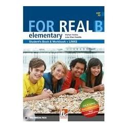 FOR REAL ELEMENTARY B BK/ WB/LINKS/CD