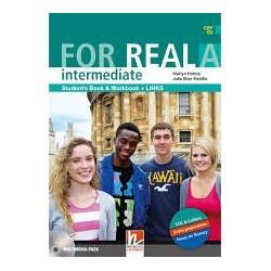 FOR REAL INTERMEDIATE A BK/WB/ LINKS/CD