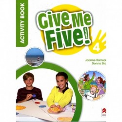 GIVE ME FIVE! 4 ACTIVITY BOOK