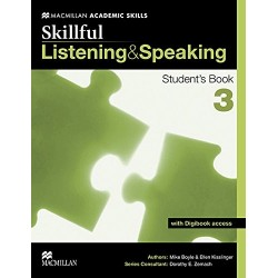 SKILLFUL 3 LISTEN AND SPEAKING BOOK