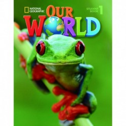 OUR WORLD AME 1 STUDENTS BOOK + CD ROM