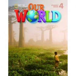 OUR WORLD AME 4 STUDENTS BOOK + CD ROM