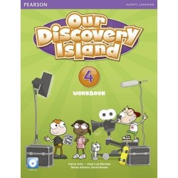 OUR DISCOVERY ISLAND 4 WB W/CD AME