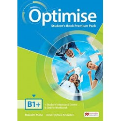 OPTIMISE B1+ STUDENTS BOOK PREMIUM PACK