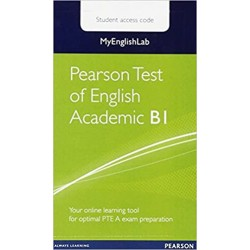 PEARSON TEST OF ENGLISH ACADEMIC B1