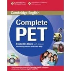 COMPLETE PET BOOK WITH ANSWER W/CD ROM