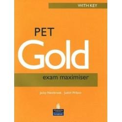 PET GOLD EXAM MAXI W/K & AUDIO CD