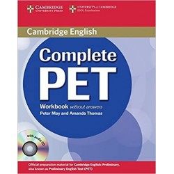 COMPLETE PET WORKBOOK WITHOUT ANSWERS WITH AUDIO