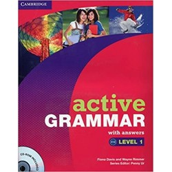 ACTIVE GRAMMAR 1 W/ANSWER + CD ROM