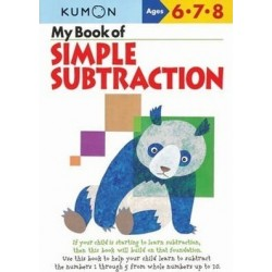MY BOOK OF SIMPLE SUBTRACTION KUMON