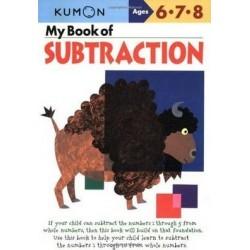 MY BOOK OF SUBTRACTION KUMON