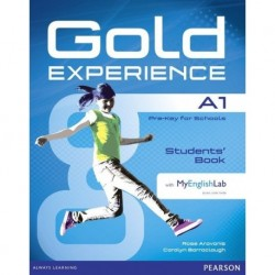 GOLD EXPERIENCE A1 BOOK WITH MY ENGLISH