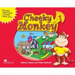 CHEEKY MONKEY 1 PACK (MUL ROM, STICK, PRESS OUT)