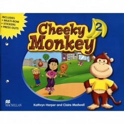 CHEEKY MONKEY 2 PACK (MUL-ROM, STICK, PRESS OUT)