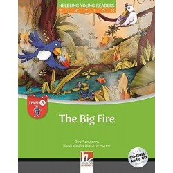 HELB YR A: THE BIG FIRE W/CD/CDROM